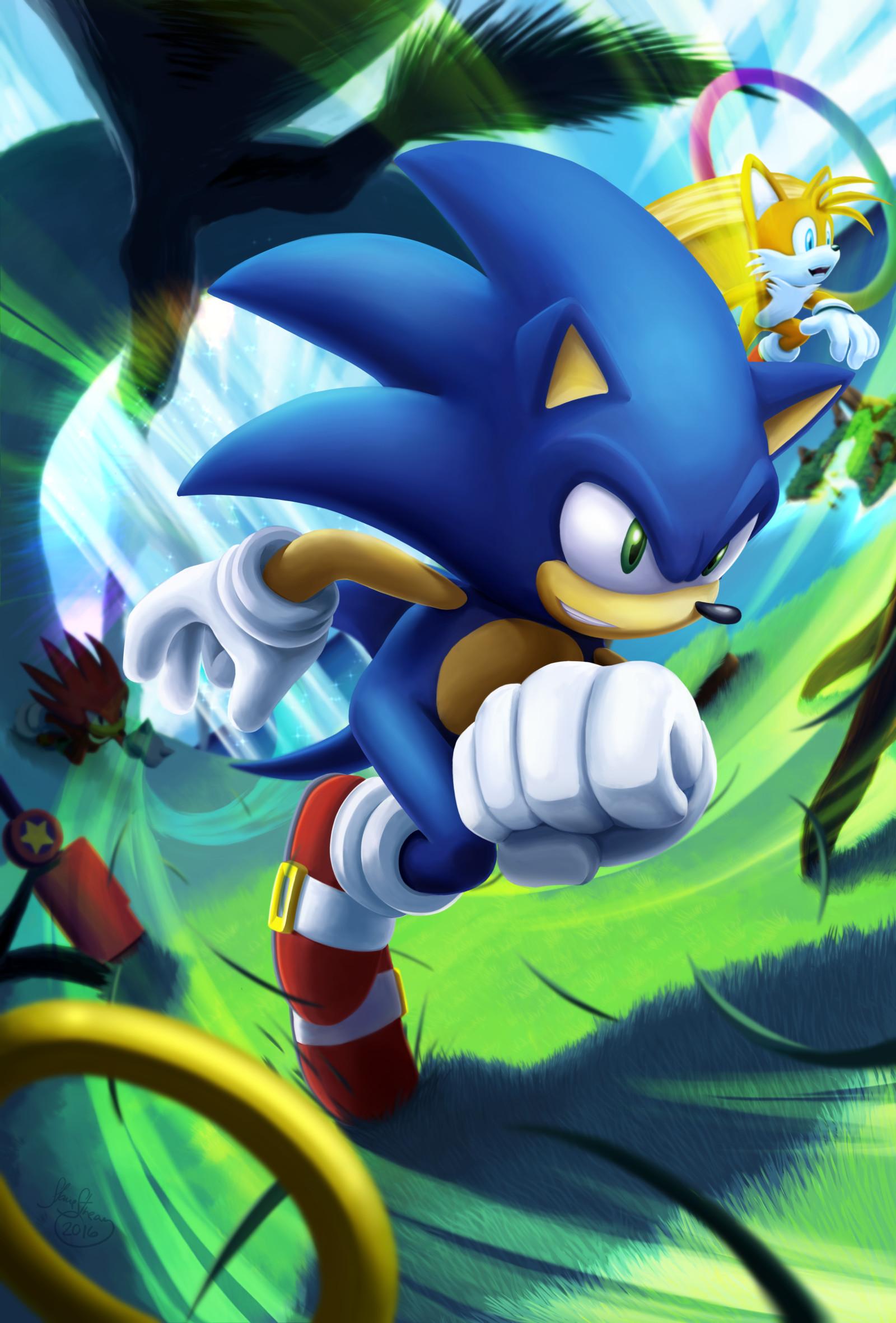 Artstation Wind Runner Sonic The Hedgehog Nicholas Souphandavong