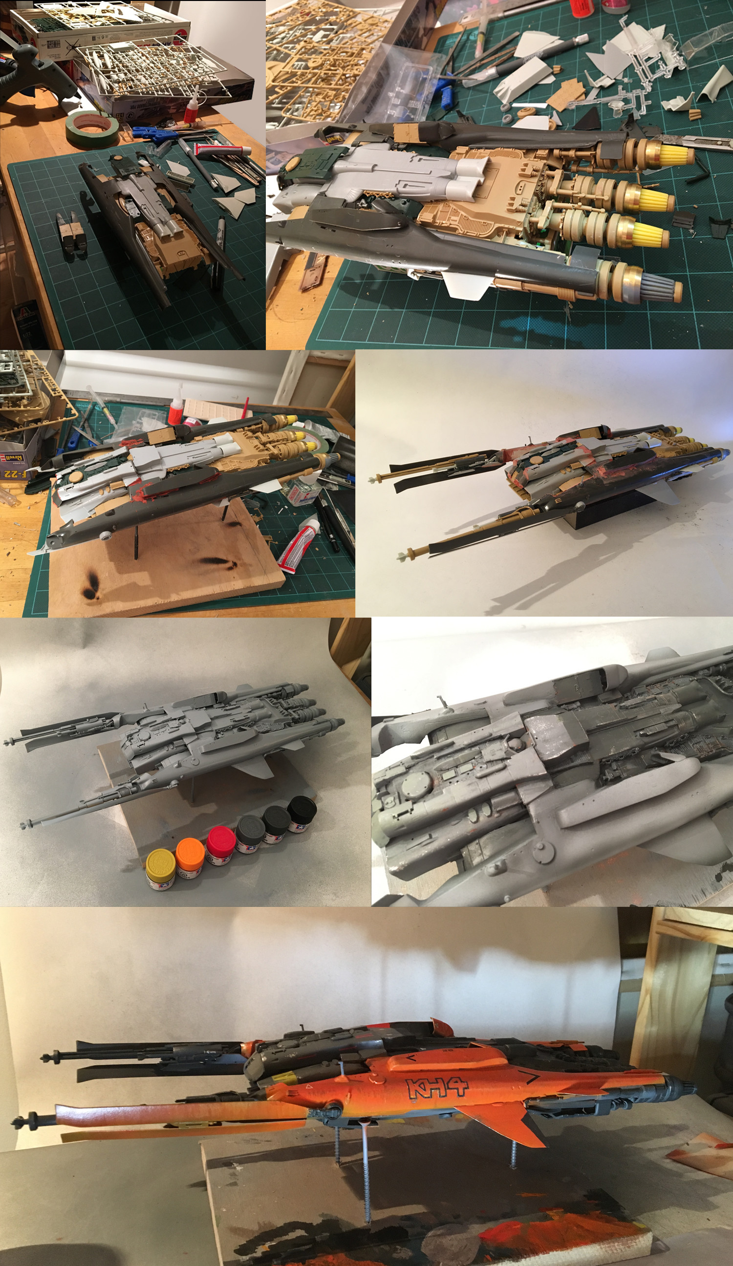 Martin deschambault project 77 kh4 kitbash