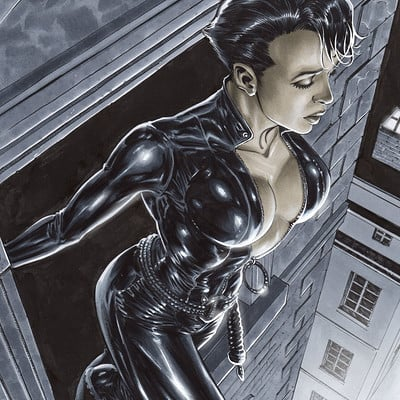 Marco santucci catwoman cover final low
