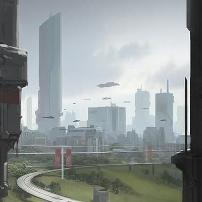 Dave jones city painting