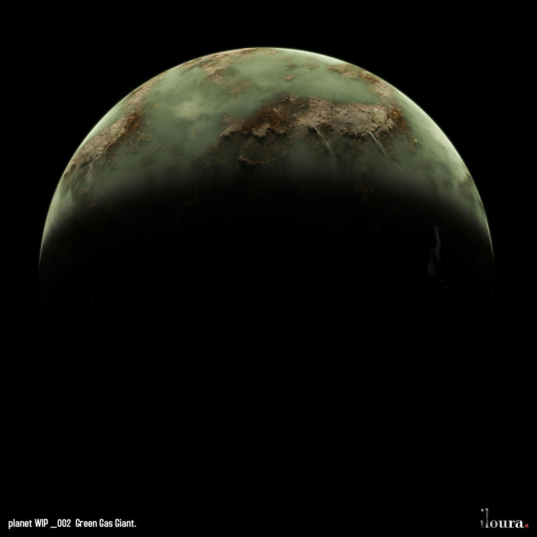AE. Green planet
