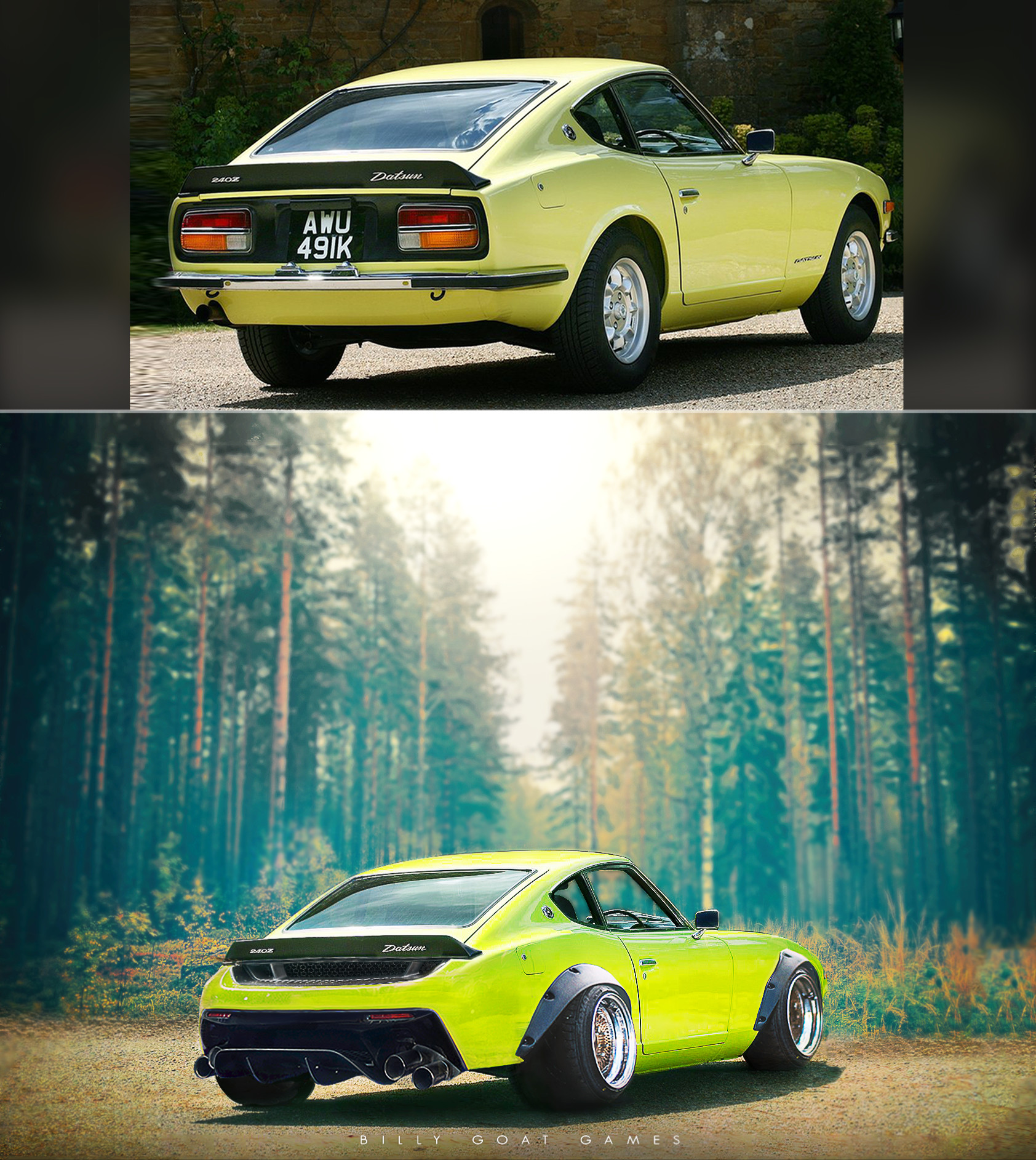Billy sullivan datsun240z edit tall