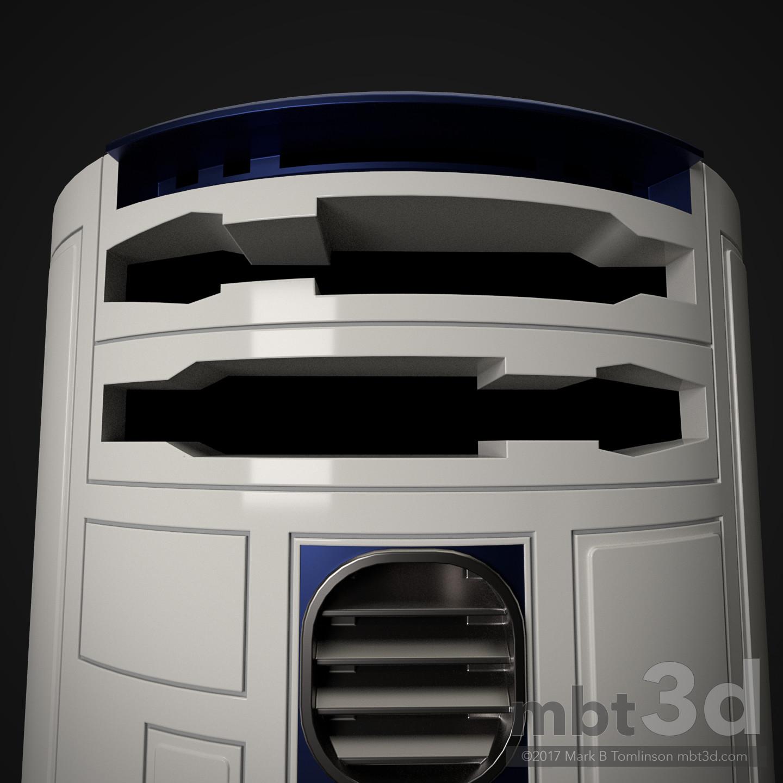 Mark b tomlinson r2 d2 astromech droid 52