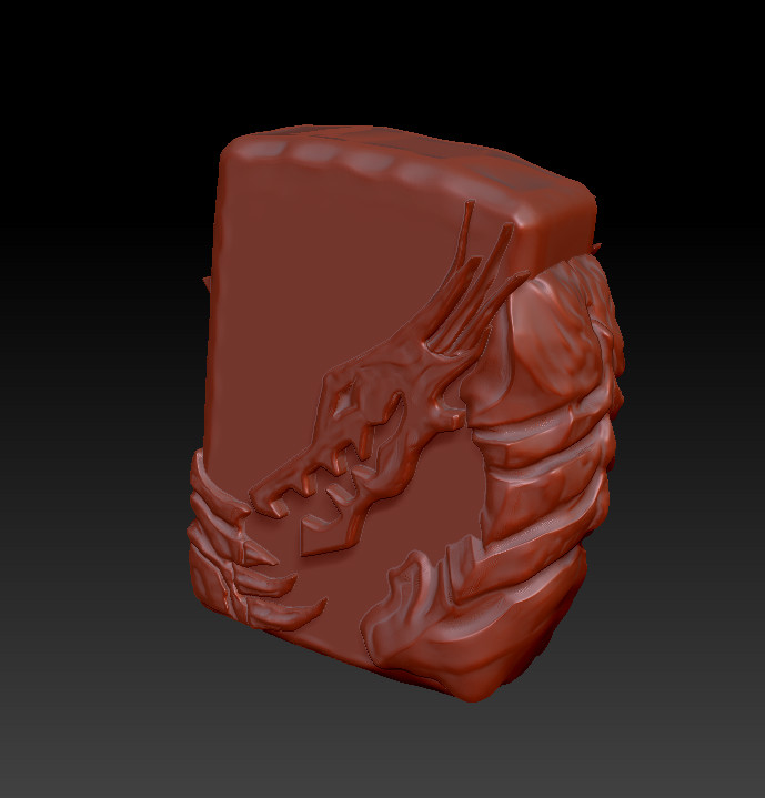 High resolution sculpt.