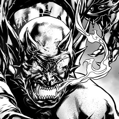 Caanan white etrigan the demon
