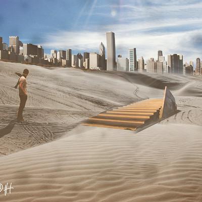 Lukas groh desert town