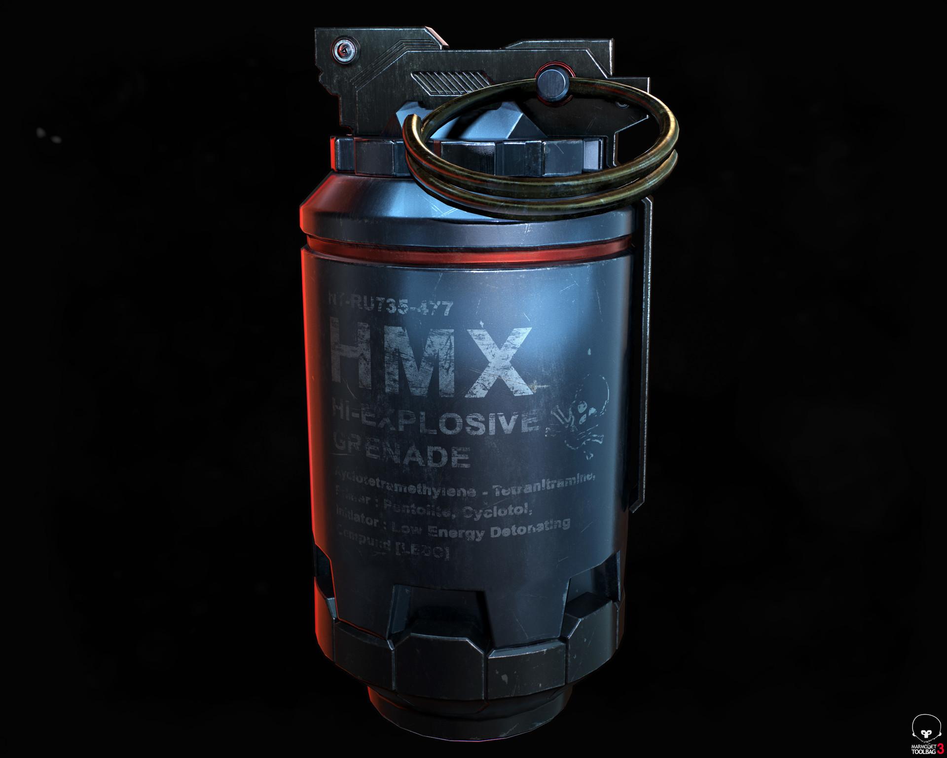 Elkanah tzur hoch hmx grenade 01