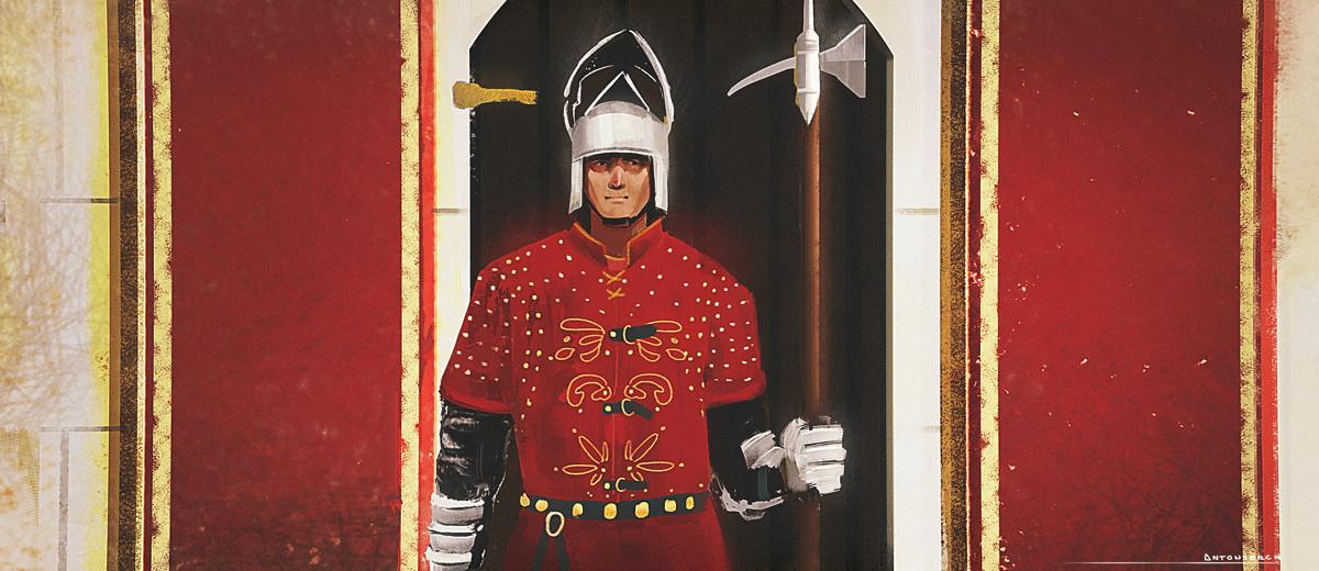 Royal guard - sketch