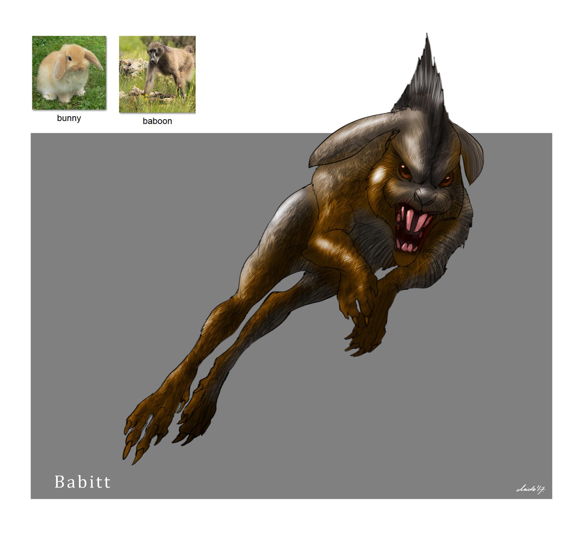 Midhat kapetanovic random creature mashup 011 babitt