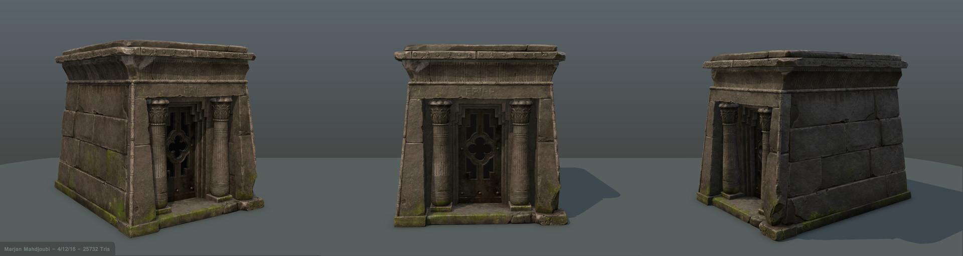 Mausoleum Art Test (2015)