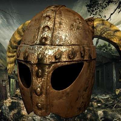 Petar doychev viking helmet 2