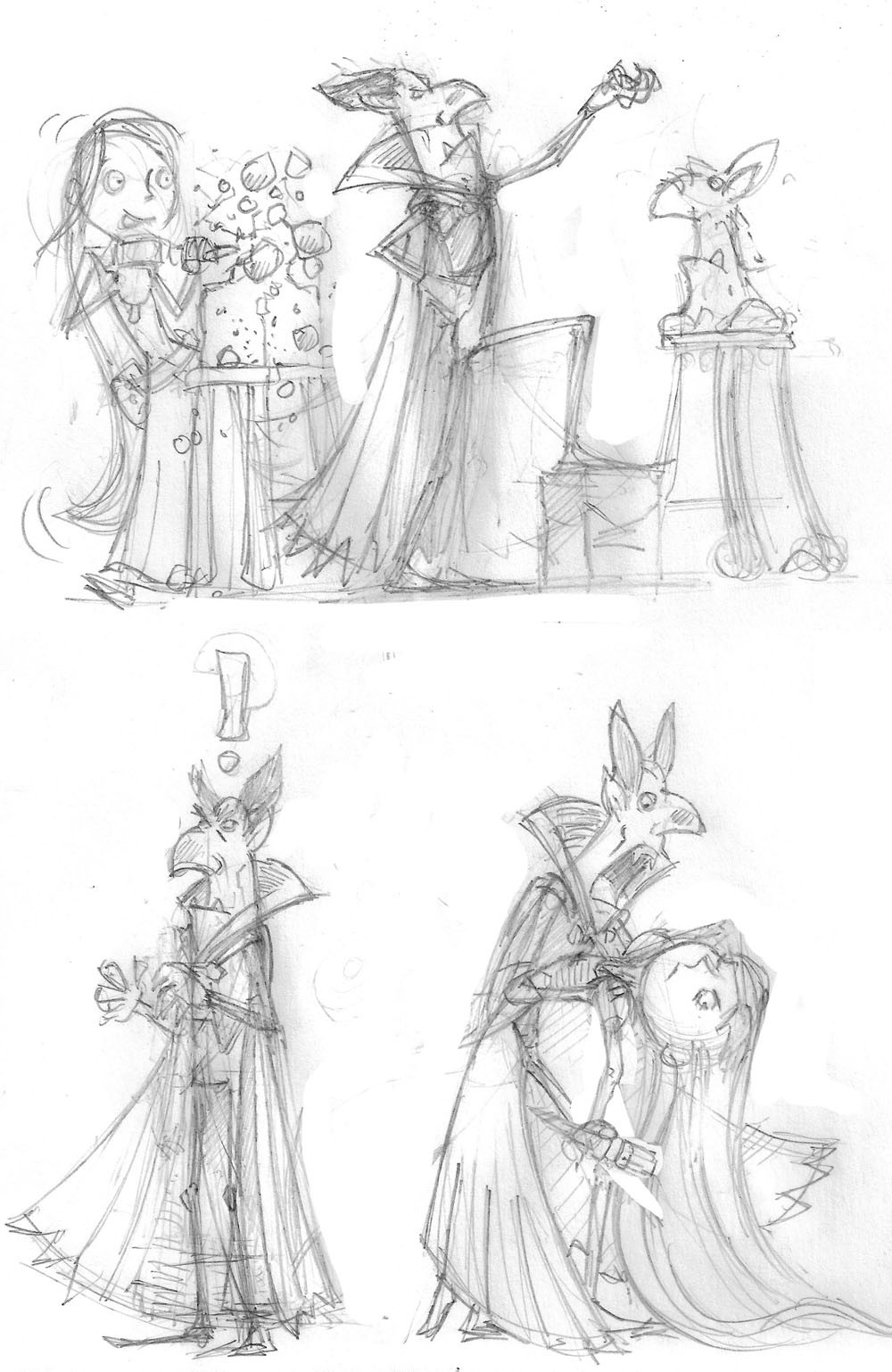 Unused Vampire cartoons