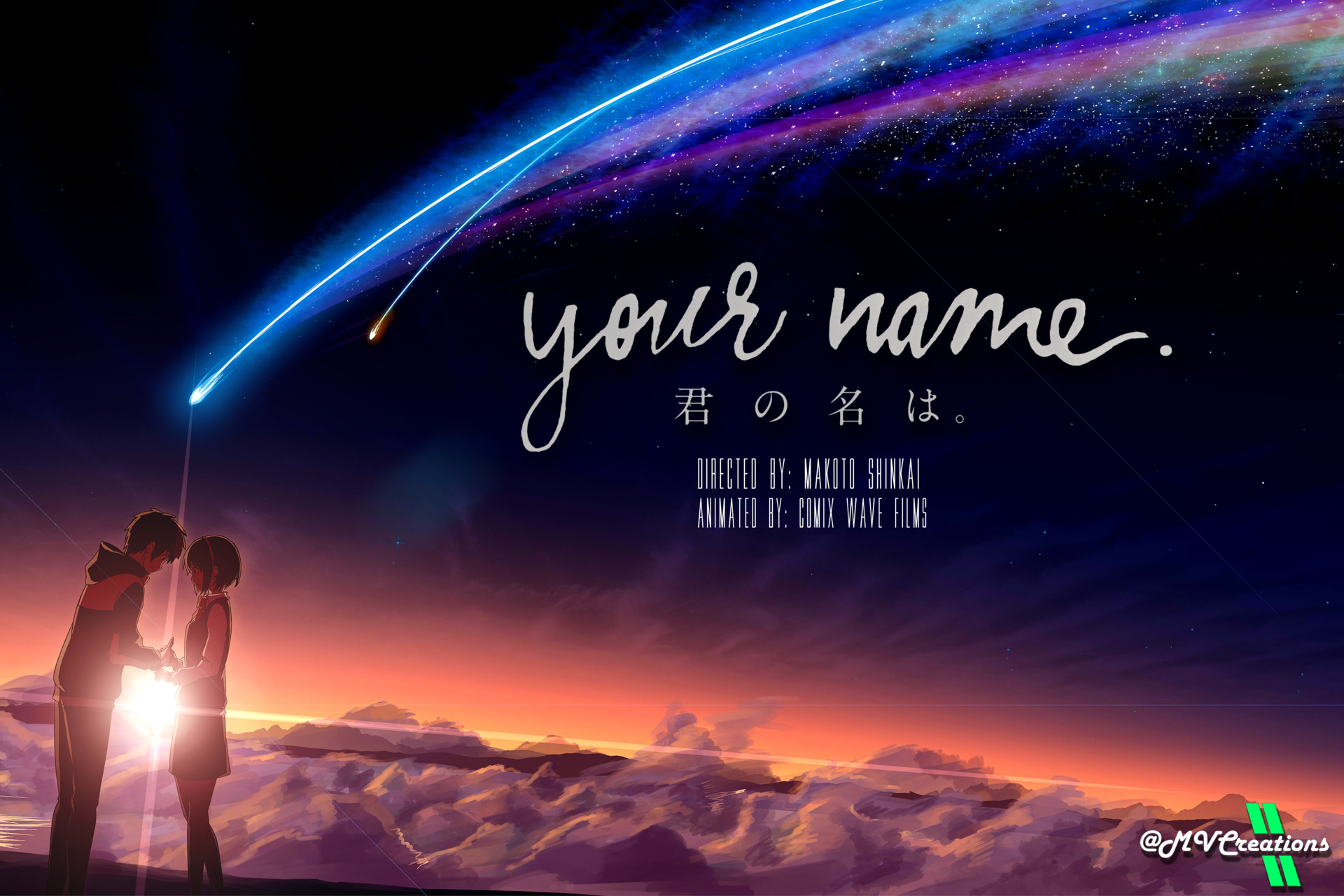 Image result for your name poster