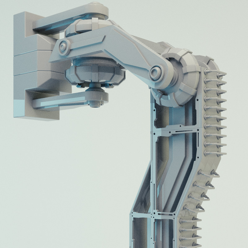 Industrial 2-Axis Leg Clamp