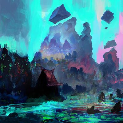 Samuel silverman alien landscape skype session