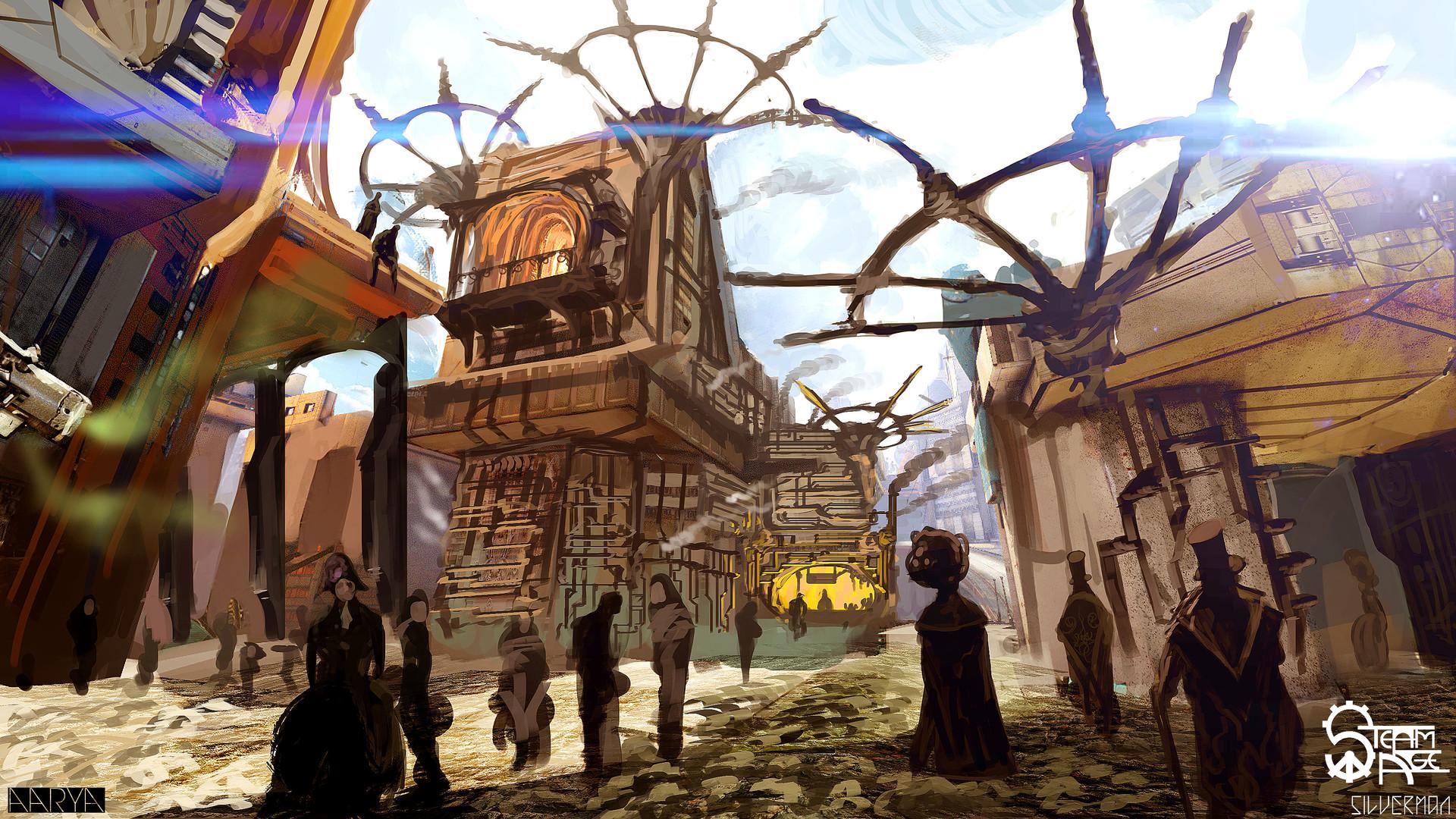 Samuel silverman aarya street concept 2