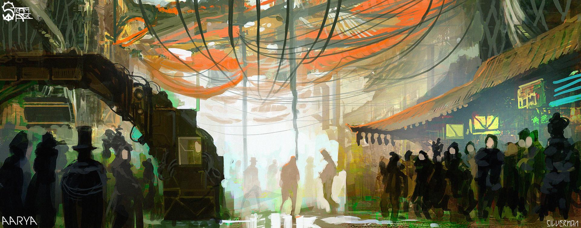 Samuel silverman aarya street concept