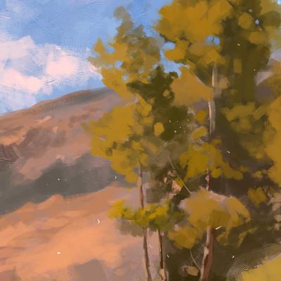Samuel silverman plein air study