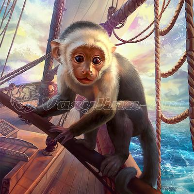 Vasilyna holod monkey