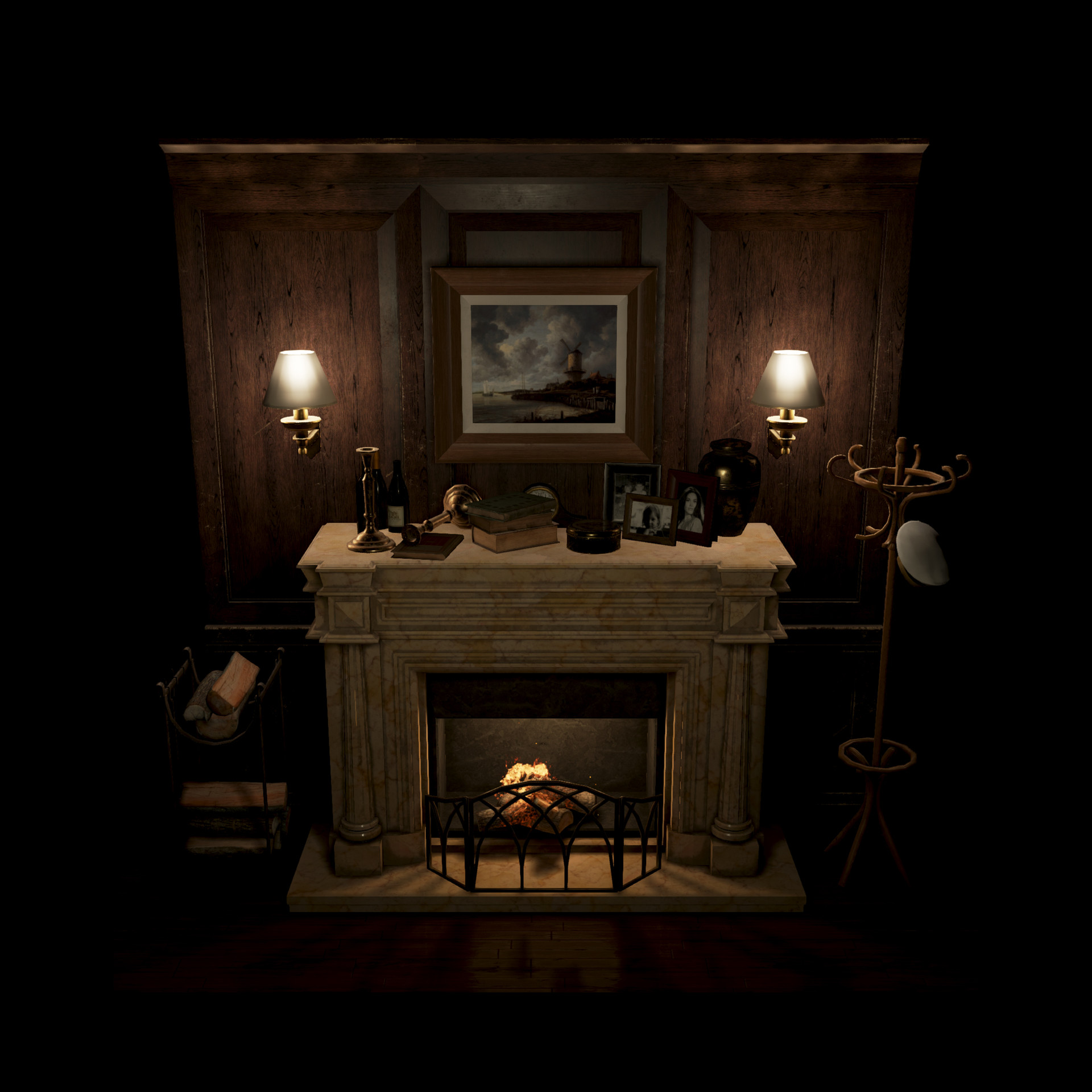Mine yilmaz ulas fireplace5