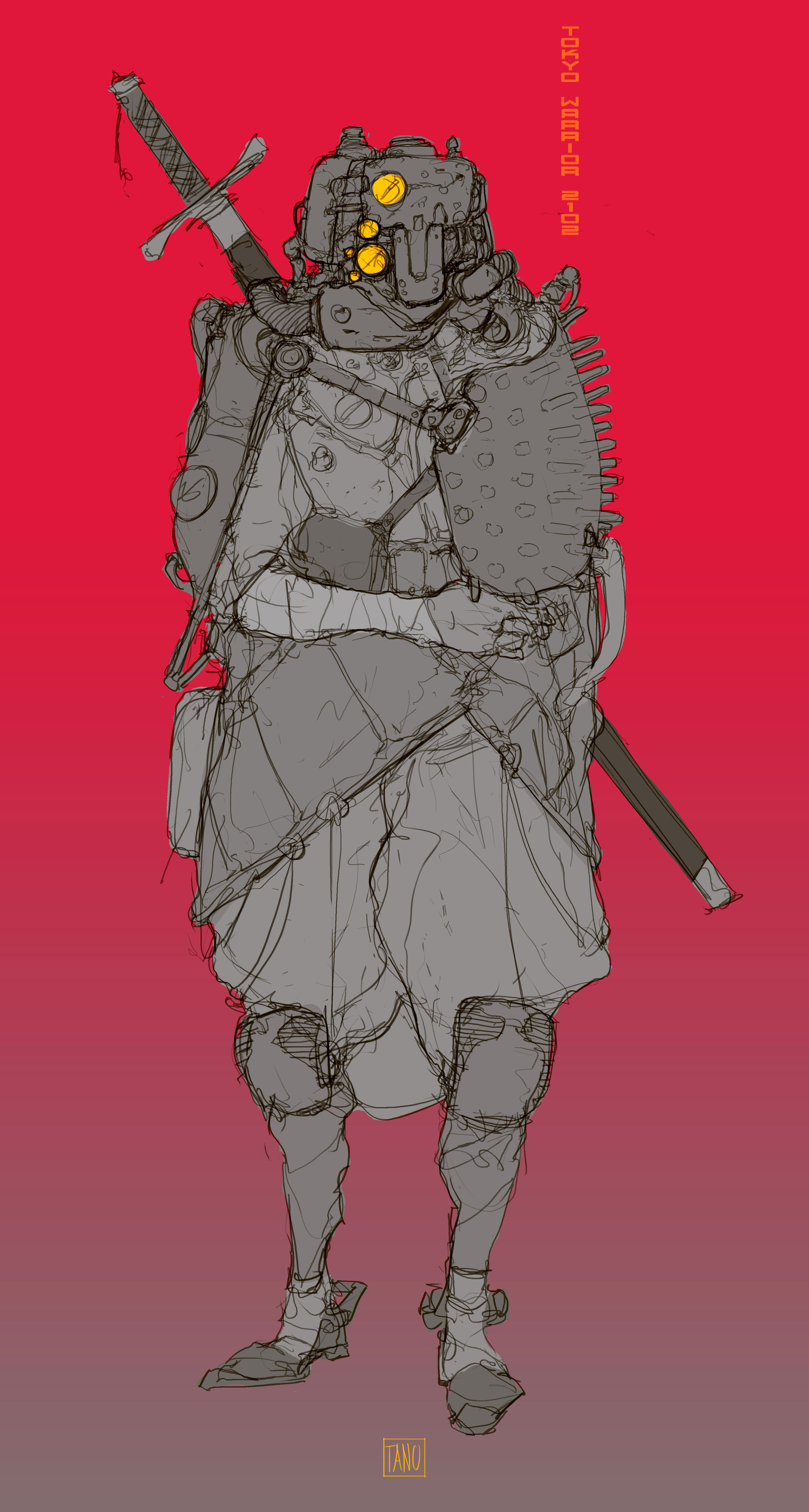 Tano bonfanti tokyo warrior