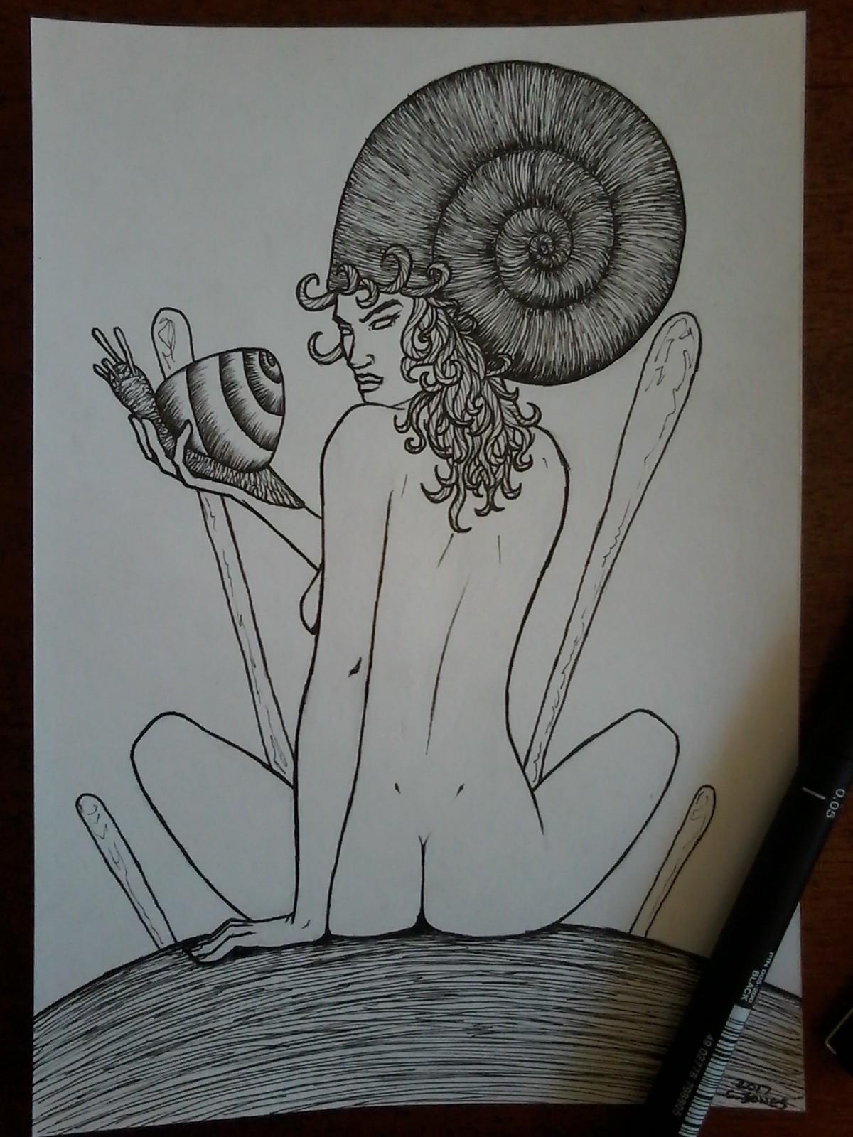 Snail queen