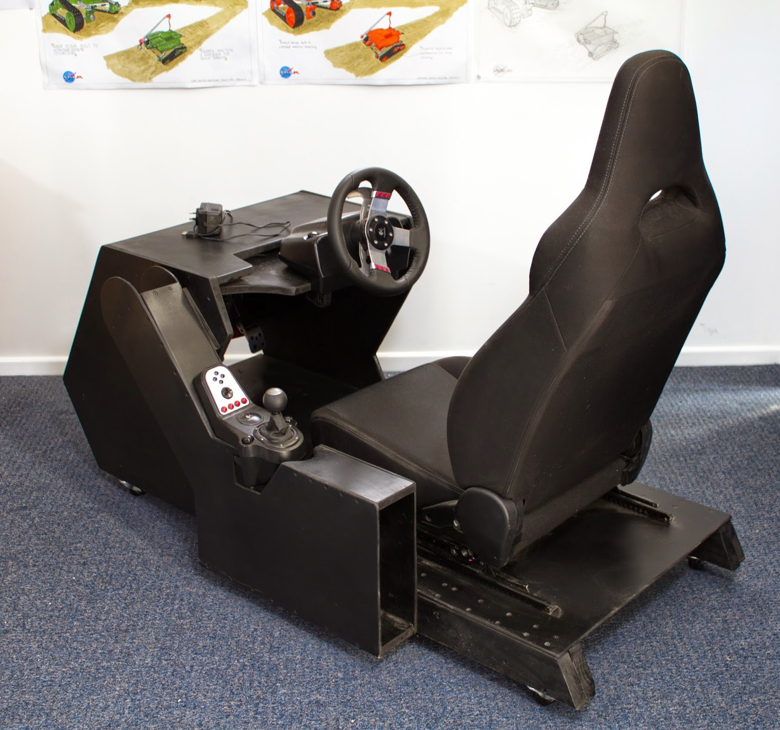 Artstation Racing Simulator Cockpit Luke Hughes