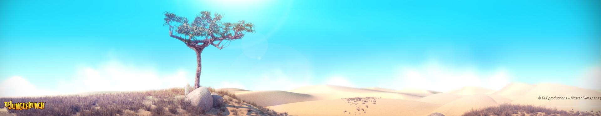 Mickael lelievre savannah desert pano 01