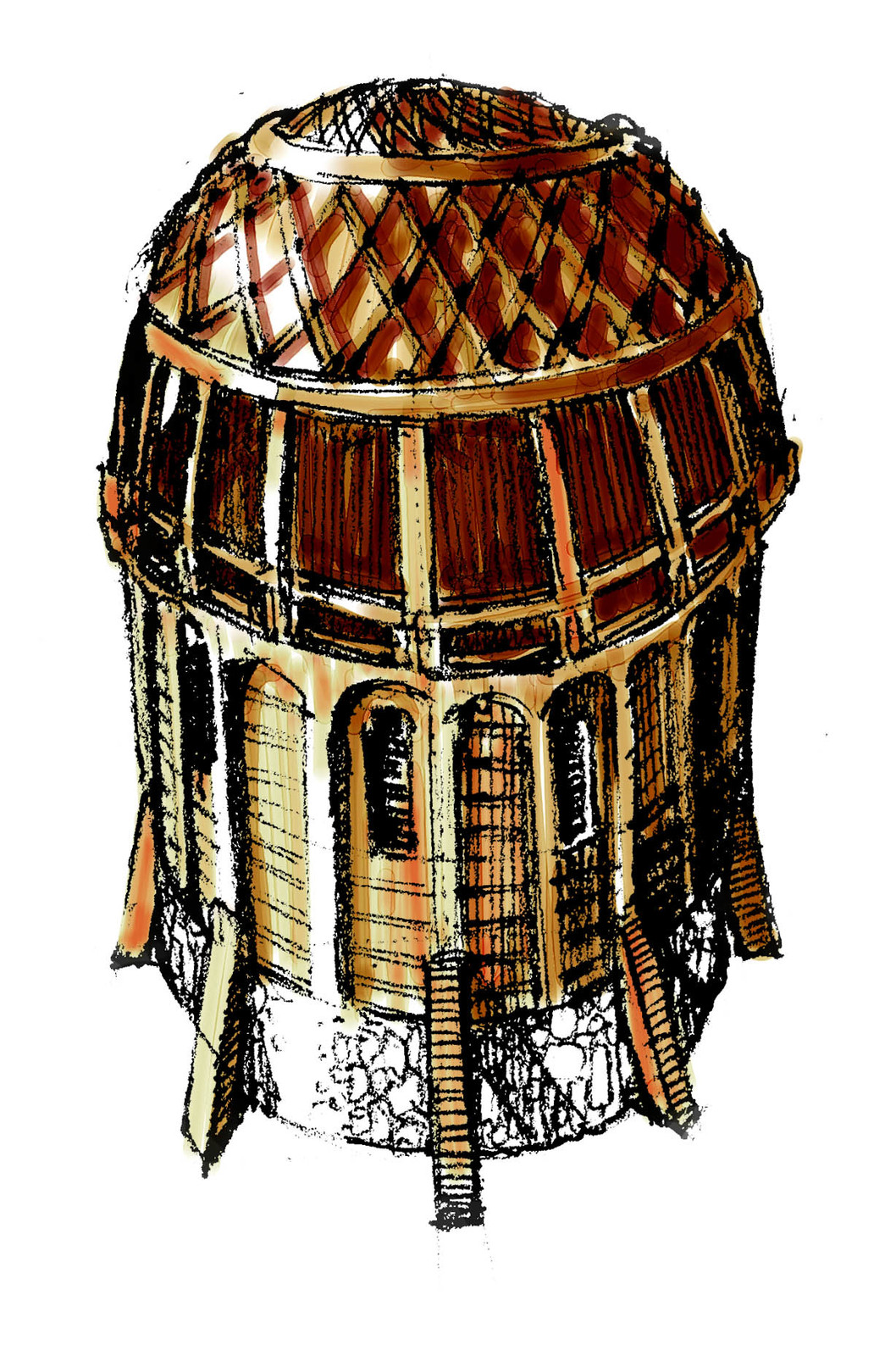 Esgaroth building