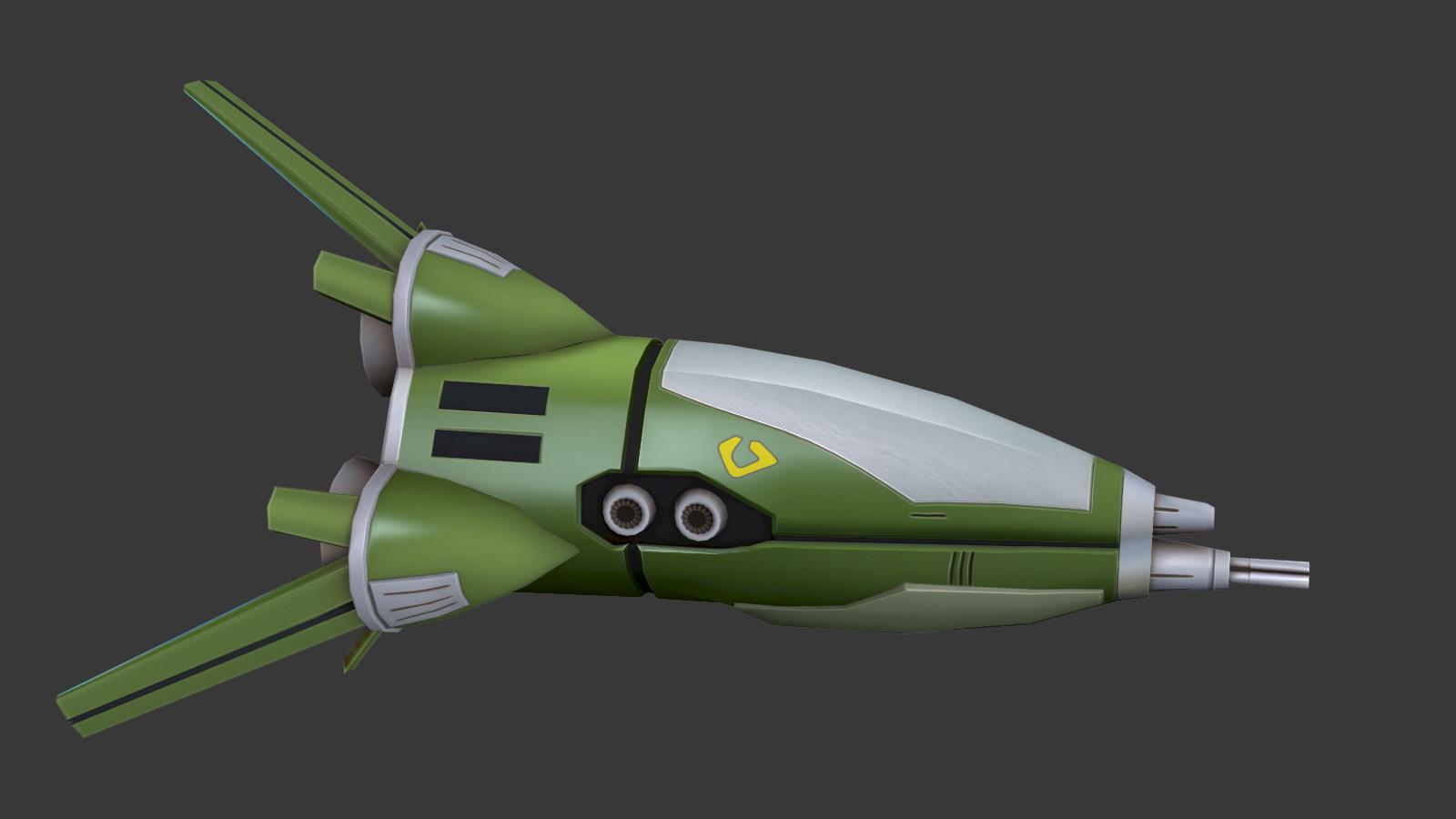 Oziel leal salinas zentraedi fighter pod 1