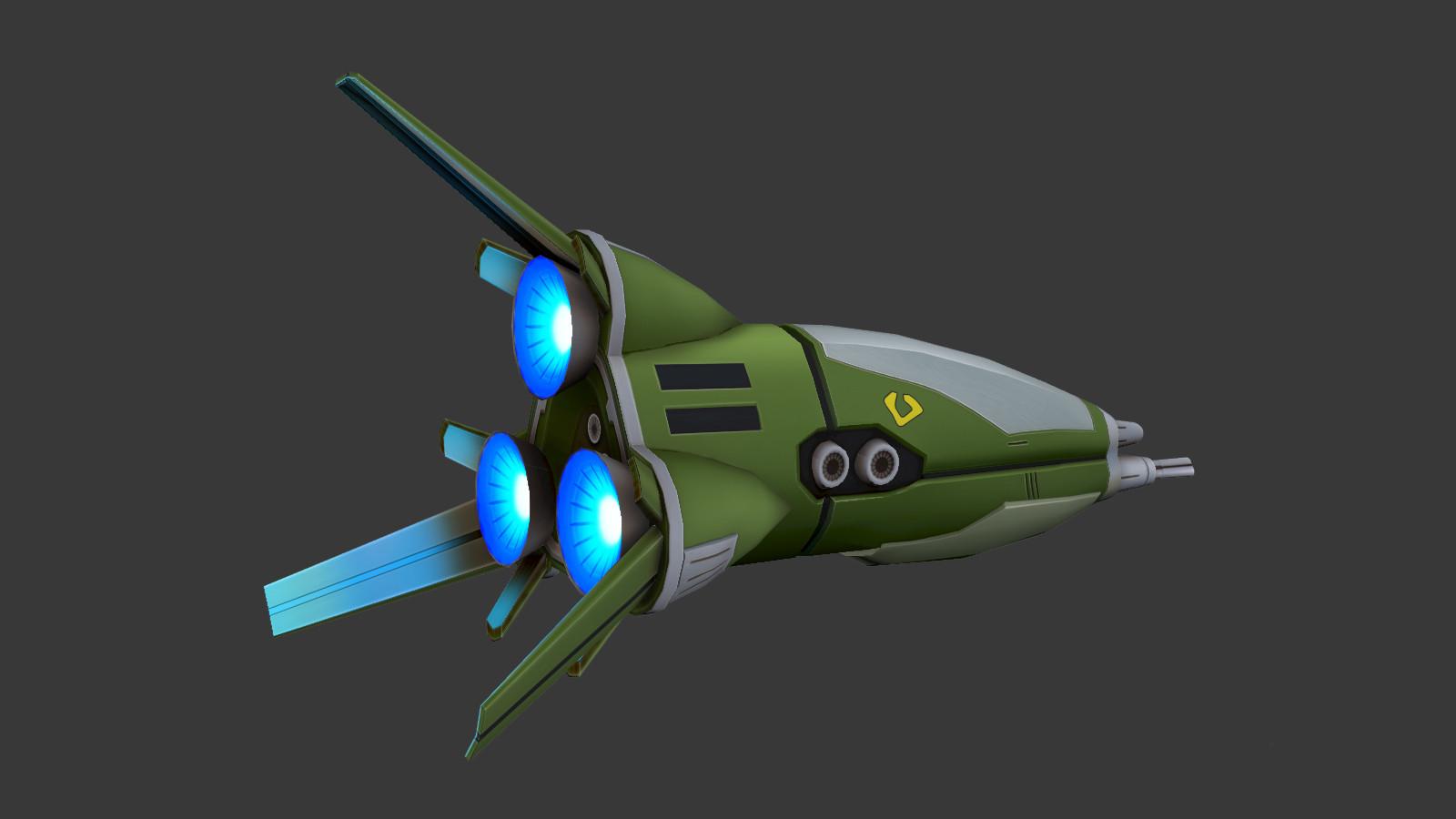 Oziel leal salinas zentraedi fighter pod 4
