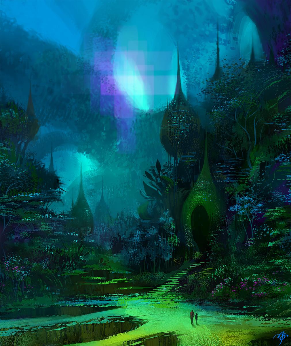 Allen song rainforest