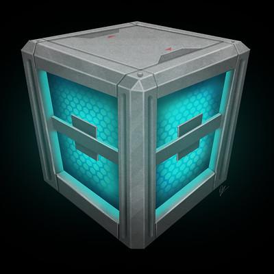 Oziel leal salinas sci fi crate 2