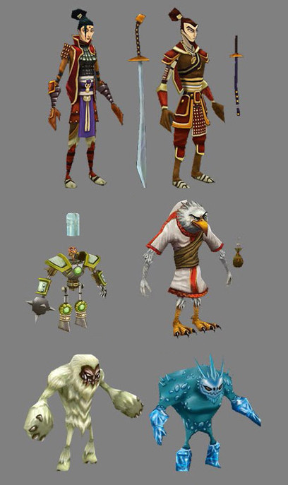 Oziel leal salinas low poly characters