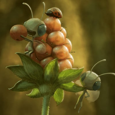 Andrew mcintosh tiny life series 005 flowerfruit 003e
