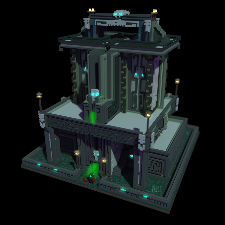 Asp temple