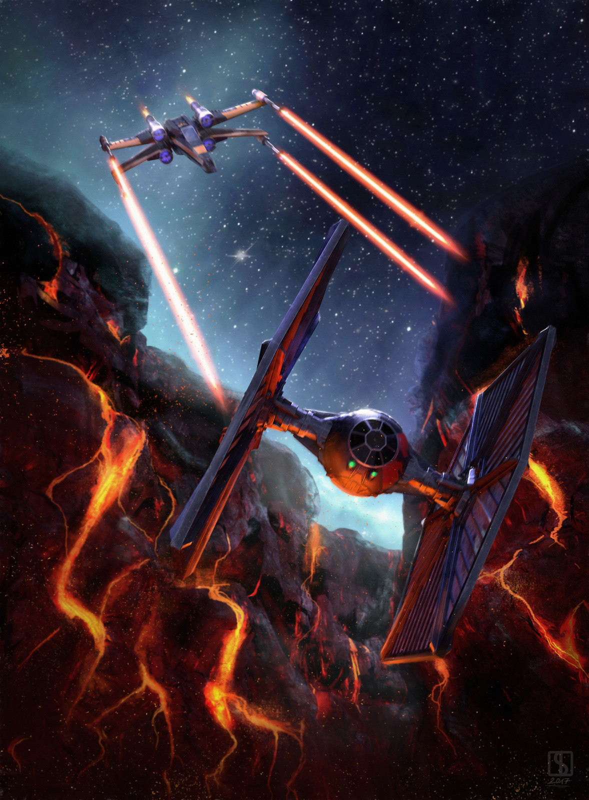 Hunt on Mustafar