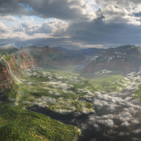 ArtStation - Halo 5 Skybox Art, Mukul Soman
