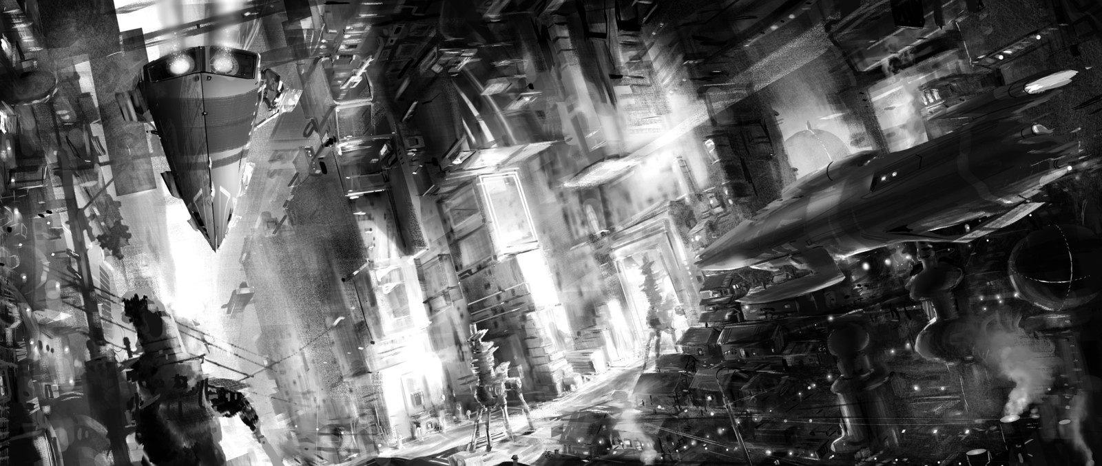 METROPOLI Concept art Tim Hansz