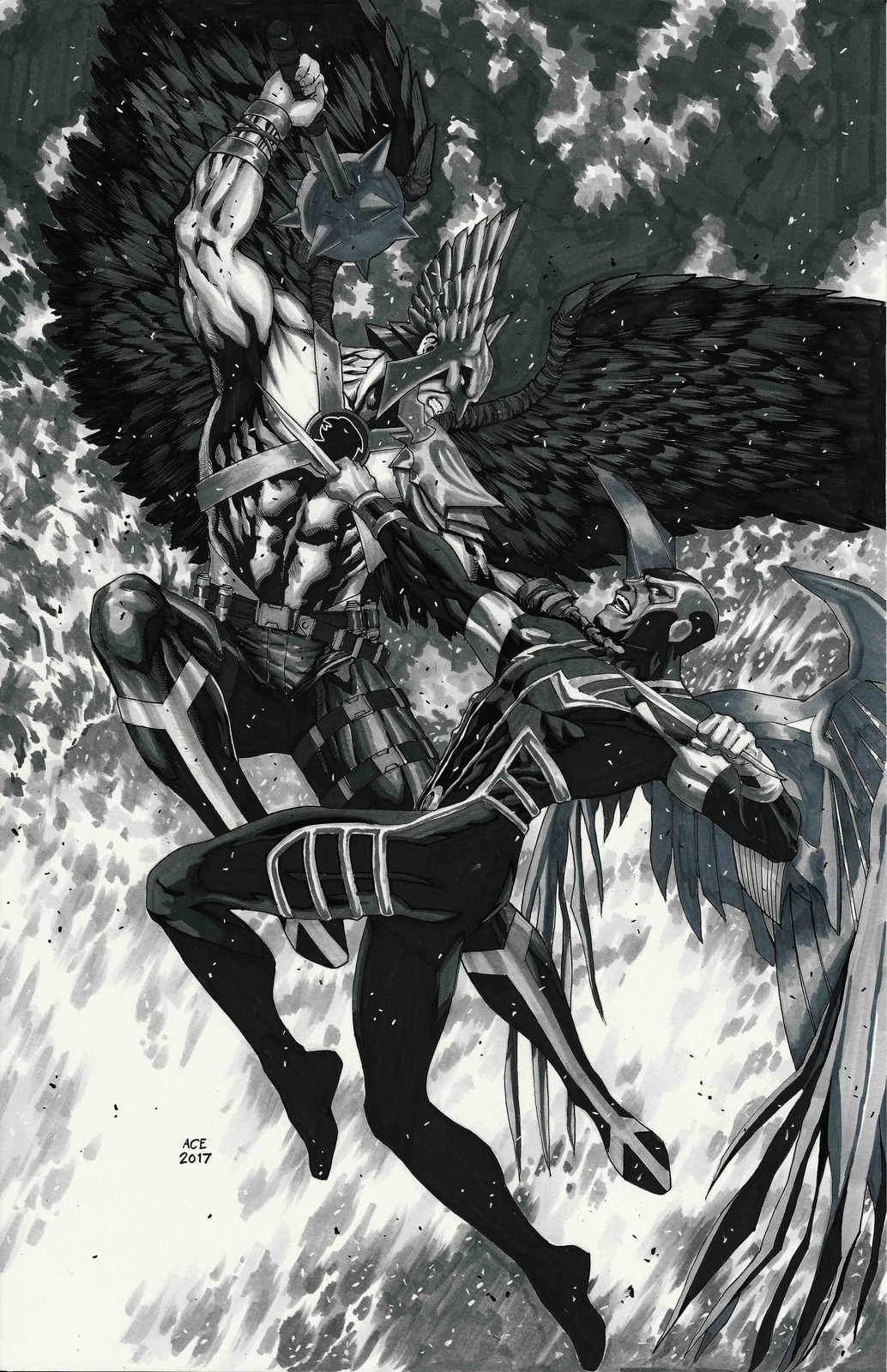 Hawkman vs Archangel