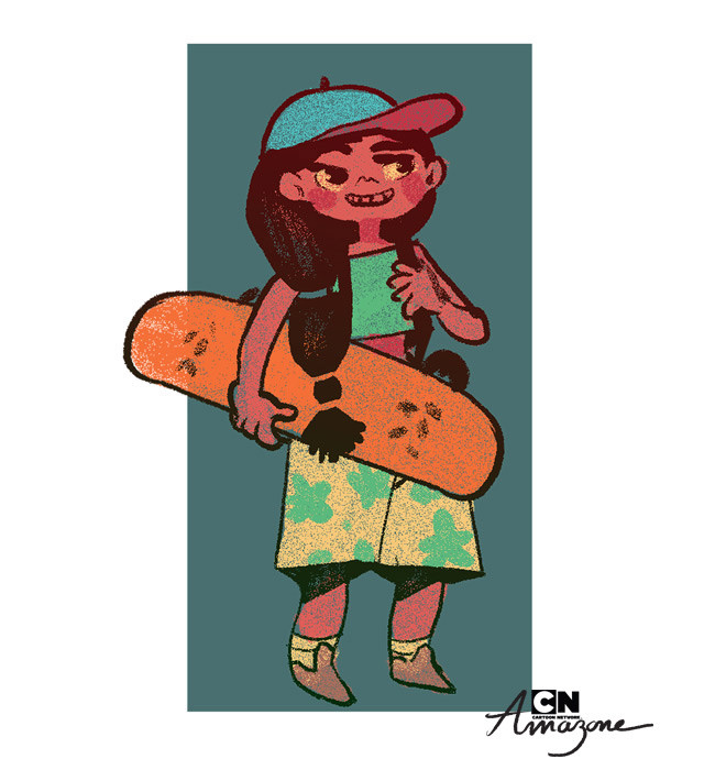 Anais marmonier anais marmonier concept art cartoon network amazone tropical island kid