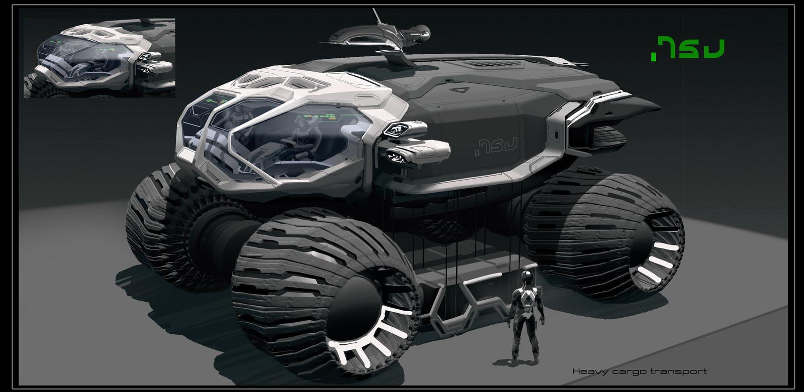 Cargo rover designs