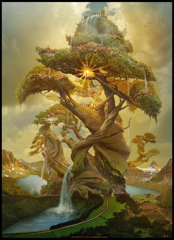 Concept Art Tree Of Life