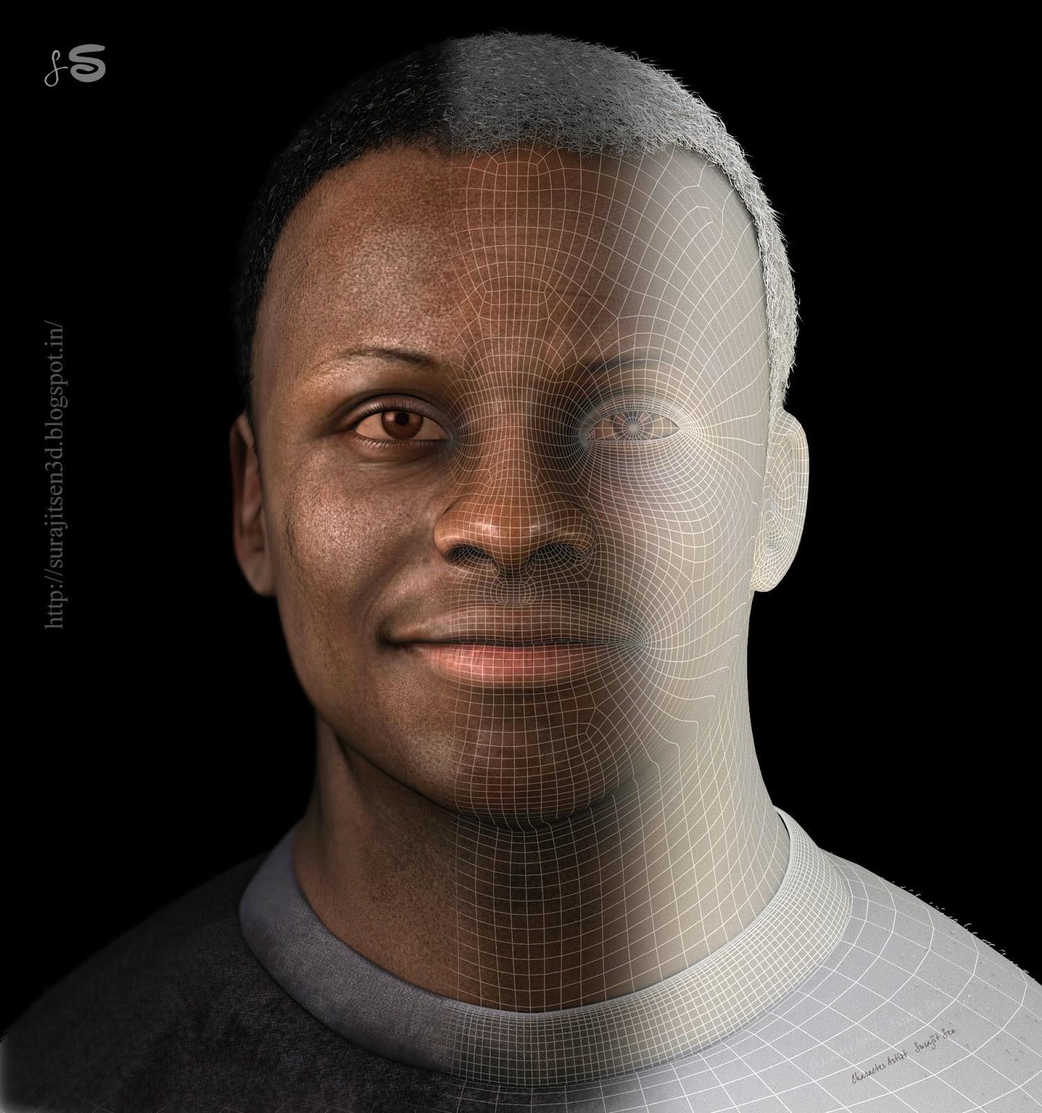 Surajit sen 2 nubia real time portrait by surajit sen wire