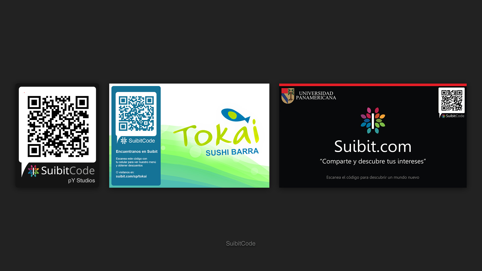 The SuibitCode was a QR Code that offered promotions on our site when scanned.