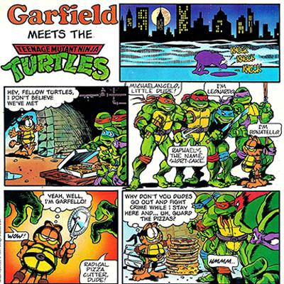 Gary barker garfieldturtles