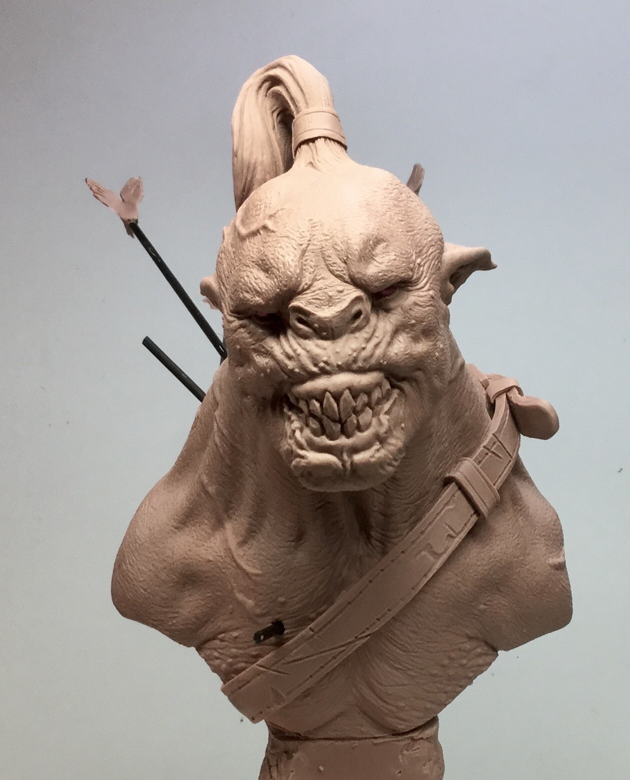 Orc/ Monster clay/6,5 inches