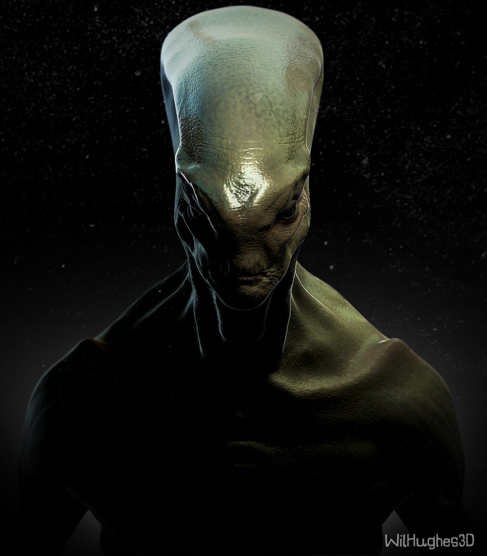 Wil hughes james alien front
