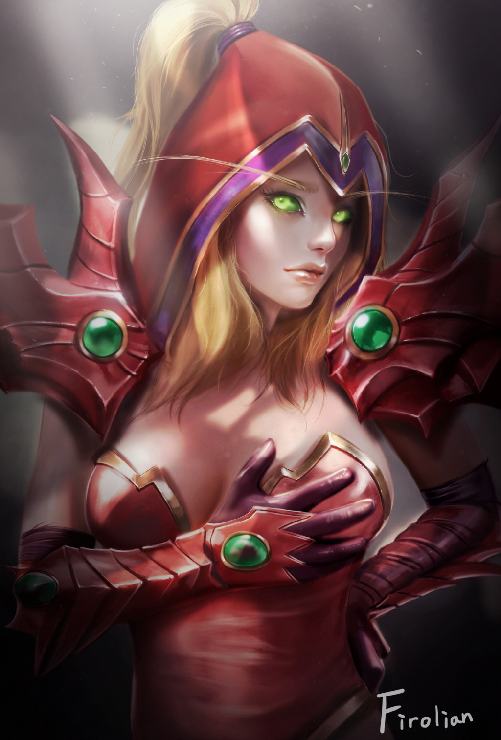 Valeera sanguinar naked sex galleries