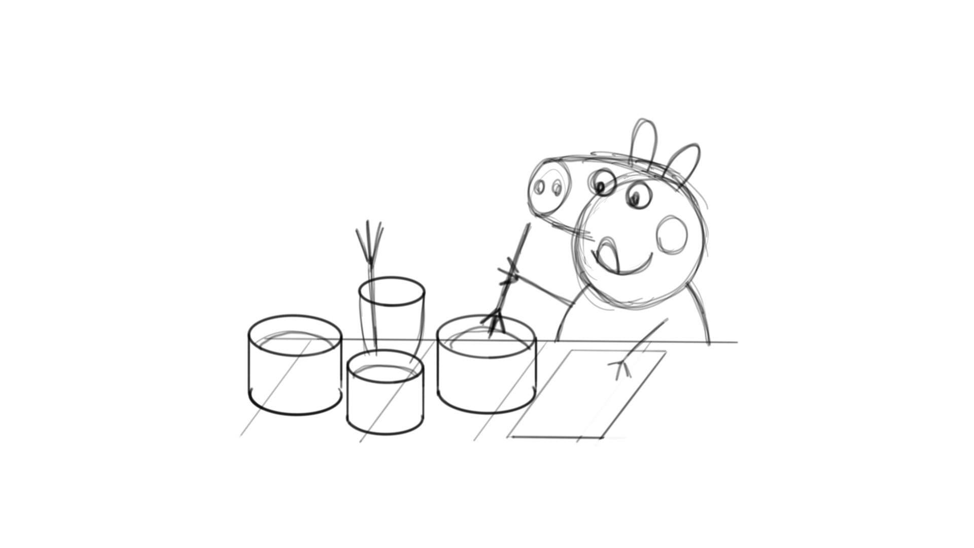 Dibujando A Peppa Pig / Drawing Peppa Pig On Samsung Galaxy Tab A With S Pen